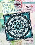 Dinner Plate Dahlia paper piecing pattern by Quiltworx