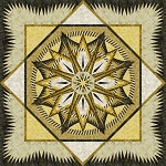Quilt Kit or pattern for Mariner's Compass by Judy Niemeyer / Quiltworx using Timeless Treasurers