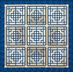 Quilt Kit for Chinese Lattice by Judy Niemeyer / Quiltworx
