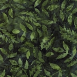 Java Batik -Leaves of Green