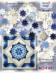 Quilt Kit for Summer Solstice in Bohemian Blues