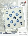 Quilt Kit for Winter Traditions in Bohemian Blues