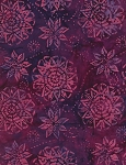 Timeless Treasures Tonga Jewel Amethyst Batik - Berry