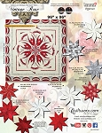 Quilt Kit for VIntage Rose Queen by Judy Niemeyer / Quiltworx