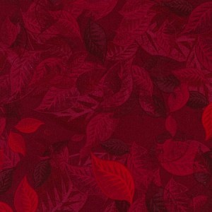 The Forever Collection by Judy Niemeyer Overlapping Leaves Small Merlot