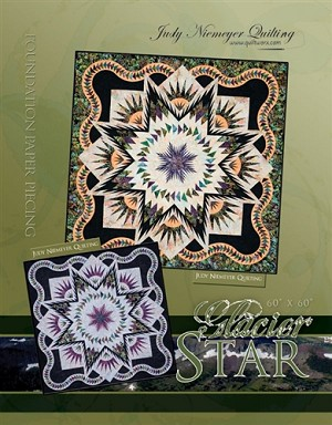 Glacier Star Paper Piecing Pattern  by Quiltworx