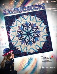 Kaleidoscope Paper Piecing Pattern
