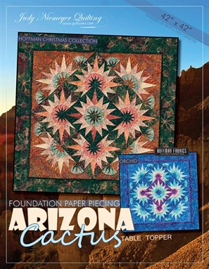 Arizona Cactus Table Topper 42x42
