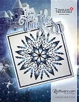 Ice Castles paper piecing pattern by Quiltworx 100x100