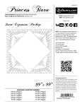 Princess Tiara Queen Expansion Package for Quiltworx patterns
