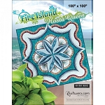 Fire Island Hosta Pattern Wall 74x74 or Queen 100x100 or Queen Replacement papers
