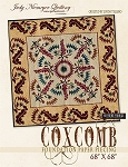 Coxcomb Quilt Kit or Pattern by QUiltworx / Judy Niemeyer   **Cover replica or custom colors **