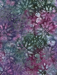 Timeless Treasures Tonga Jewel Amethyst Batik - Dazzle