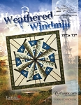Weathered Windmill Paper Piecing Pattern by Quiltworx